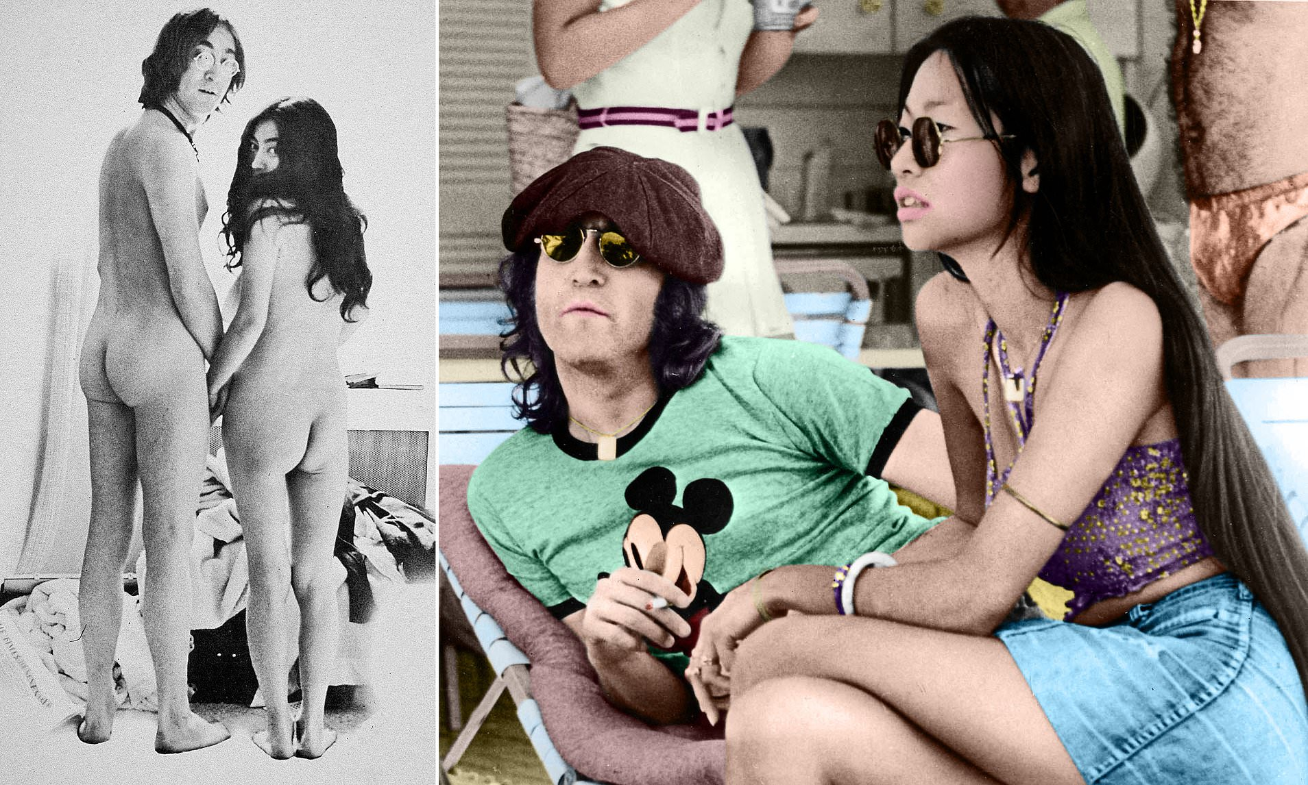 john lennon nude frontal excited