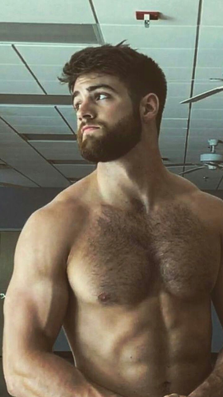 young hairy gay men