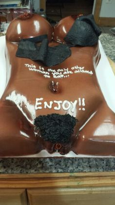 exotic body cakes nude
